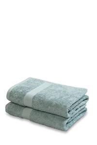 Vandyck handdoek (set van 2) (110 x 60 cm) Vintage groen, vintage groen