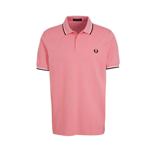 Fred Perry regular fit polo roze