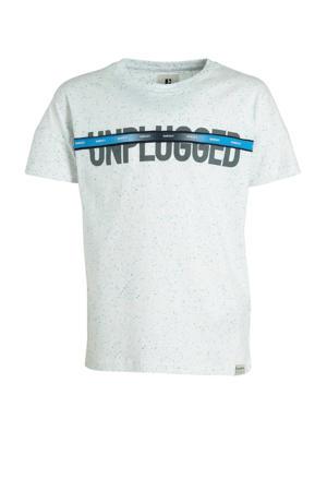 T-shirt met tekst offwhite