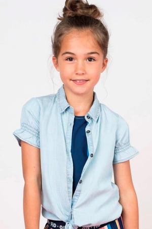 blouse light denim