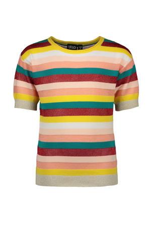 gestreept T-shirt multi