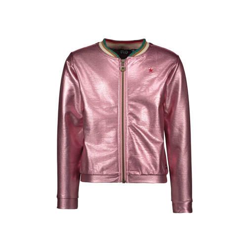 Like Flo jasje met glitters roze metallic