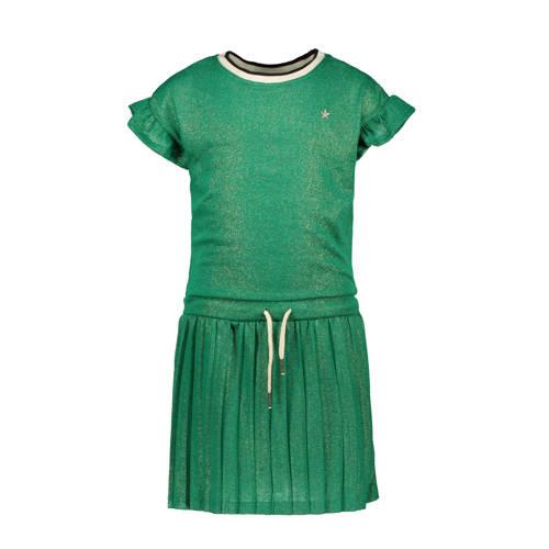 Like Flo jurk en glitters groen