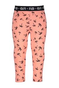 Like Flo high waist legging met all over print roze/zwart, Roze/zwart