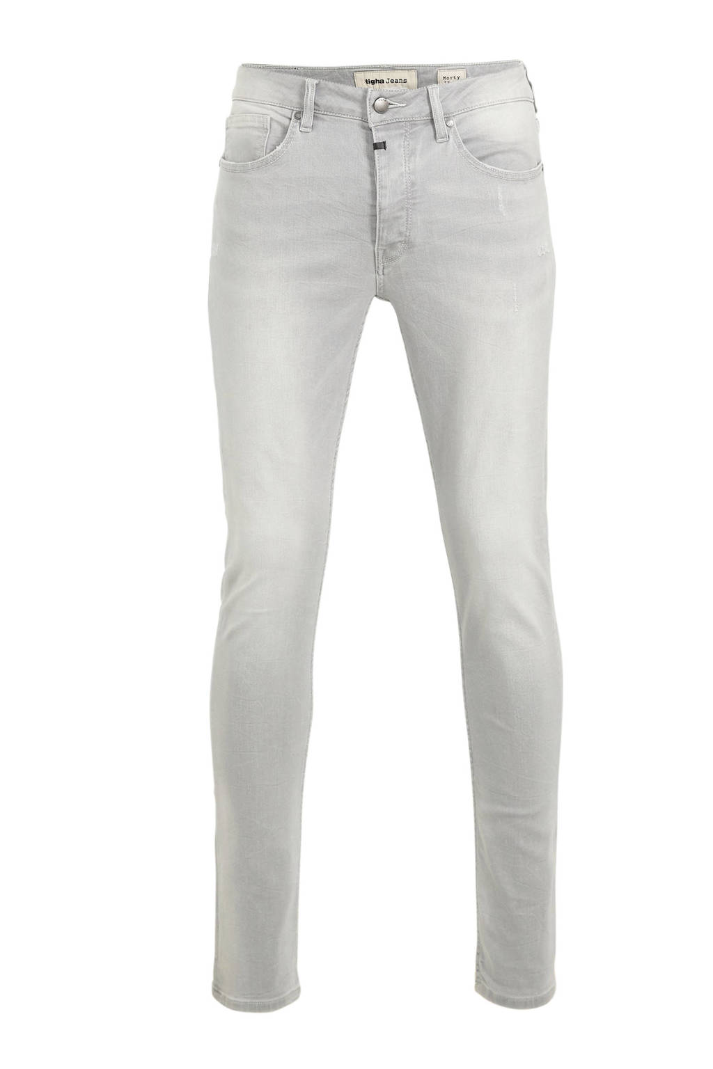 Tigha slim fit jeans Morty light grey, Light Grey