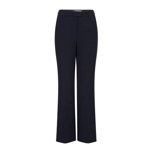 Steps straight fit pantalon donkerblauw