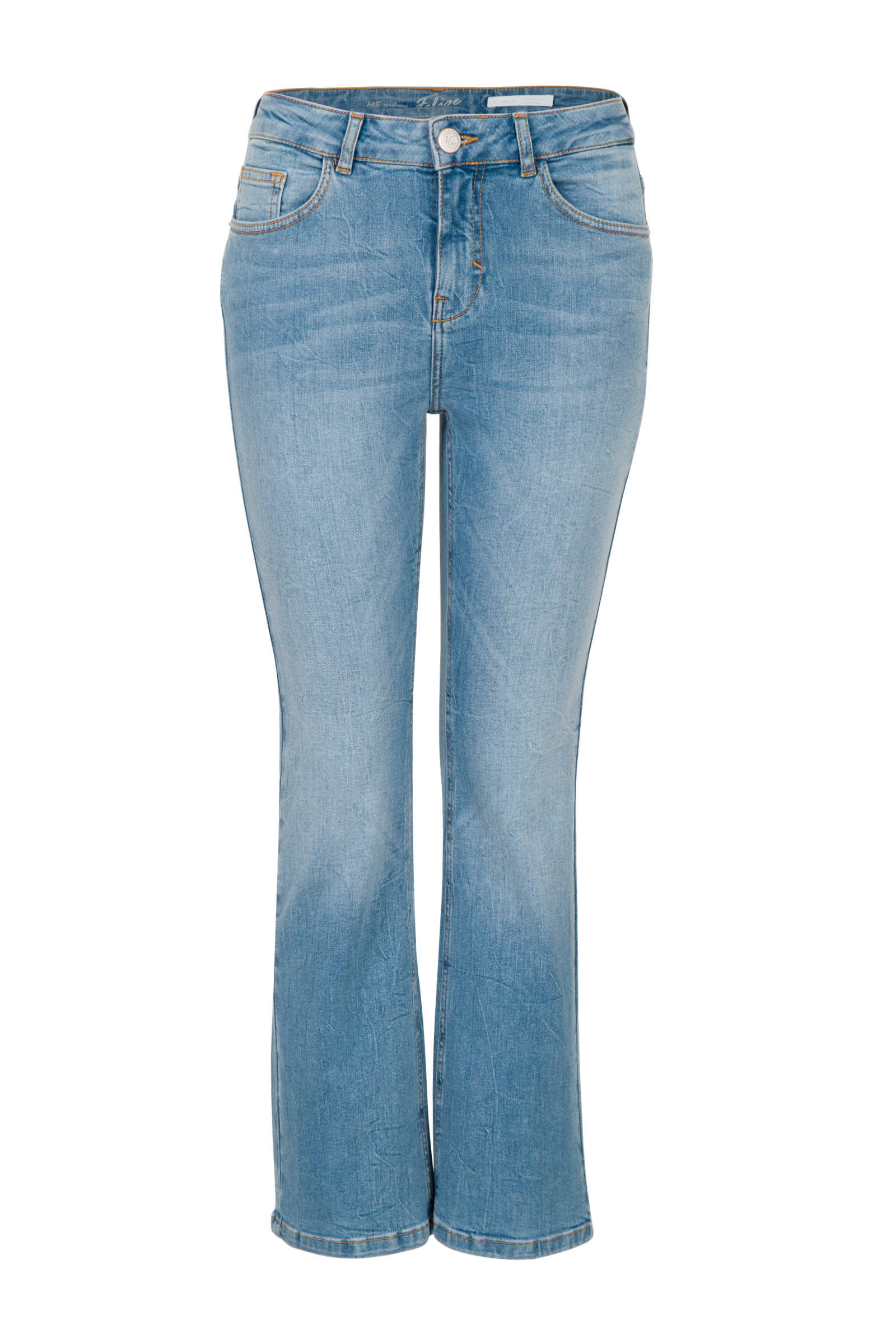 cropped flared jeans Felize lichtblauw