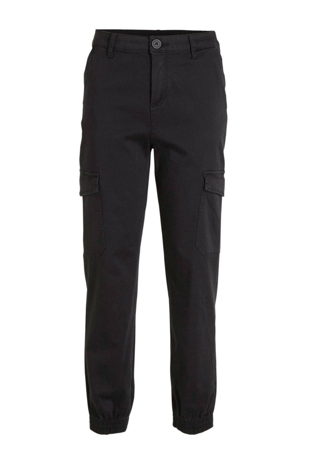 C&A Here & There straight fit cargo broek realblack, RealBlack