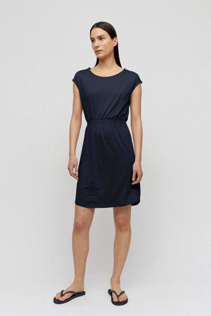 jersey jurk Sonjaa donkerblauw