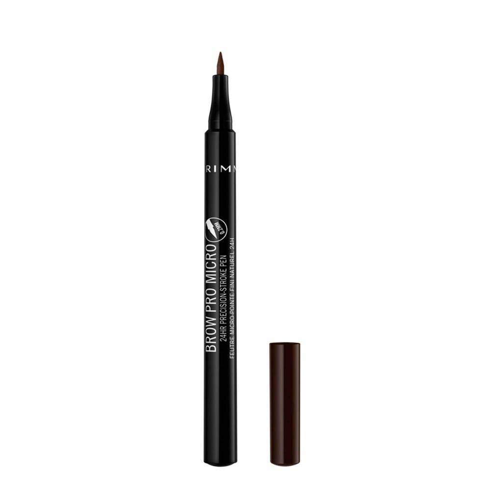 Rimmel London Brow Pro Micro Pen - Dark Brown 004
