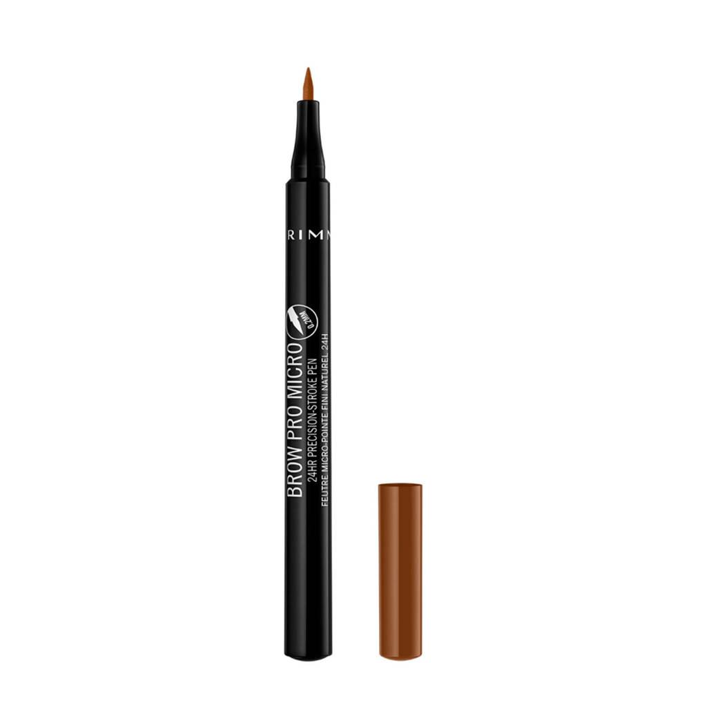 Rimmel London Brow Pro Micro Pen - Honey Brown 002