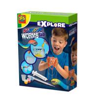 SES Explore  Rainbow worms lab
