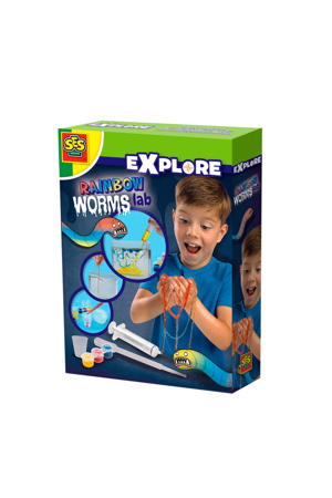 Rainbow worms lab