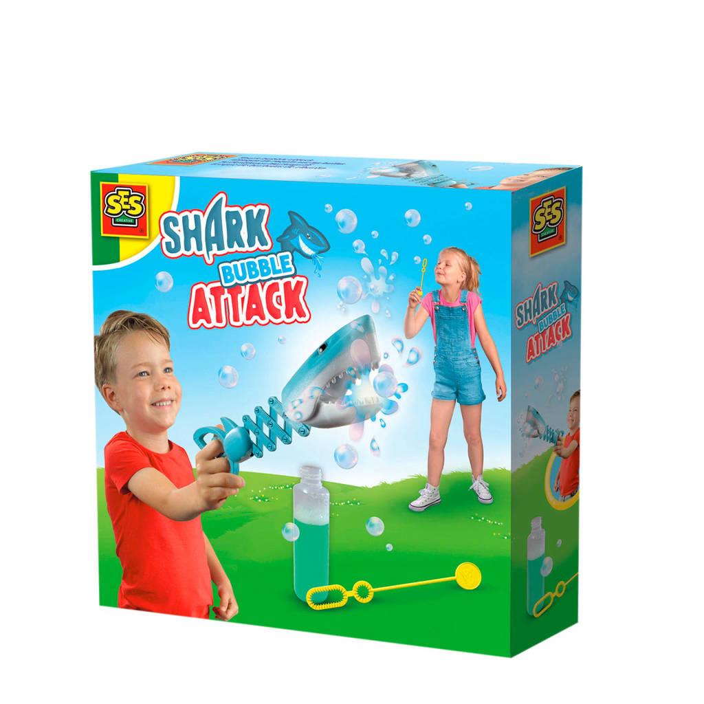 SES Shark bubble attack