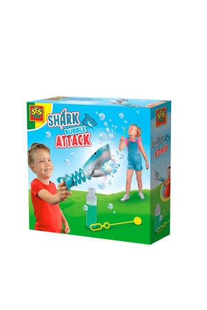 Shark bubble attack