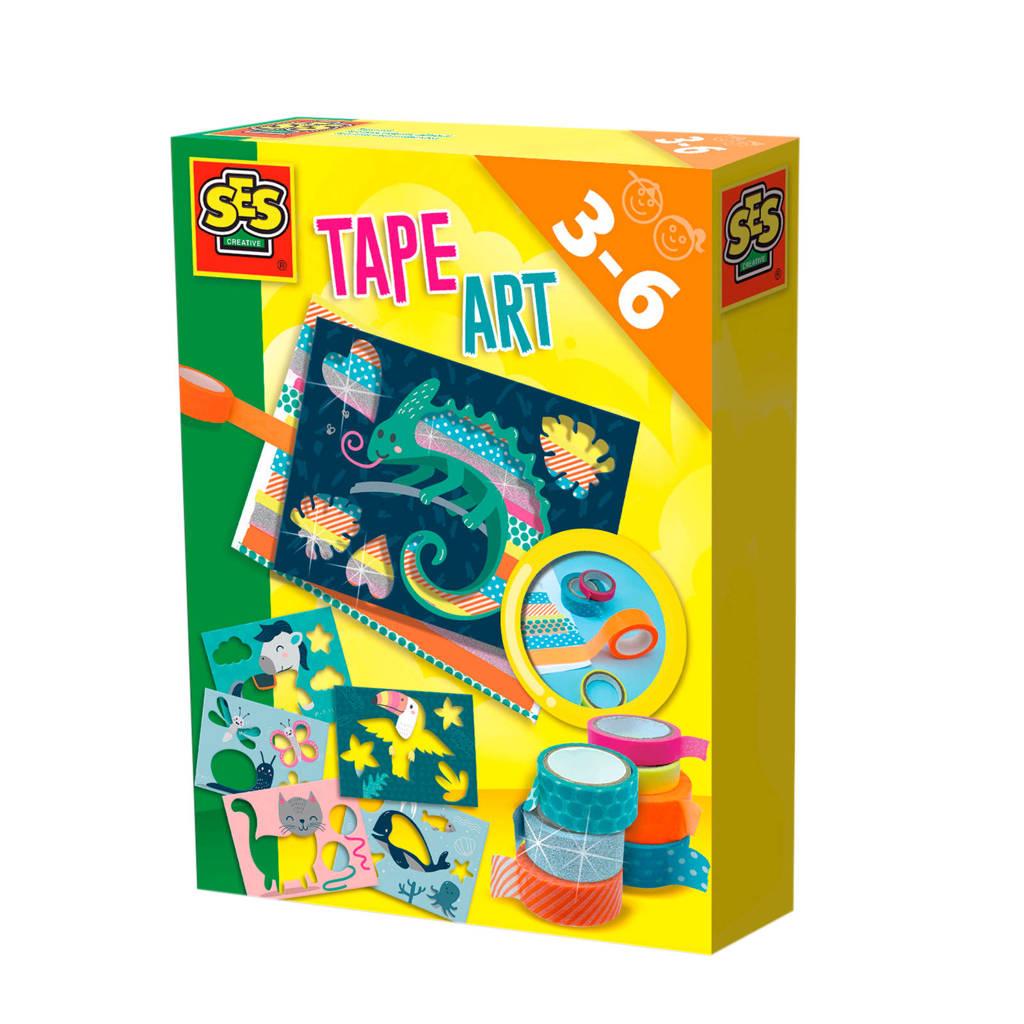 SES  Tape art (dieren)