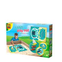 SES Zand speelmat - Water en wegen