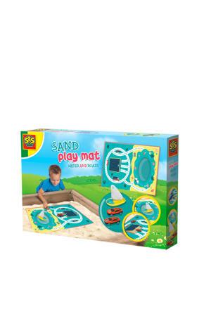 Zand speelmat - Water en wegen