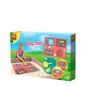 Zand speelmat - Keuken