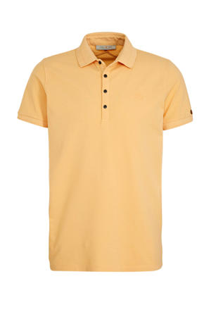 regular fit polo licht oranje