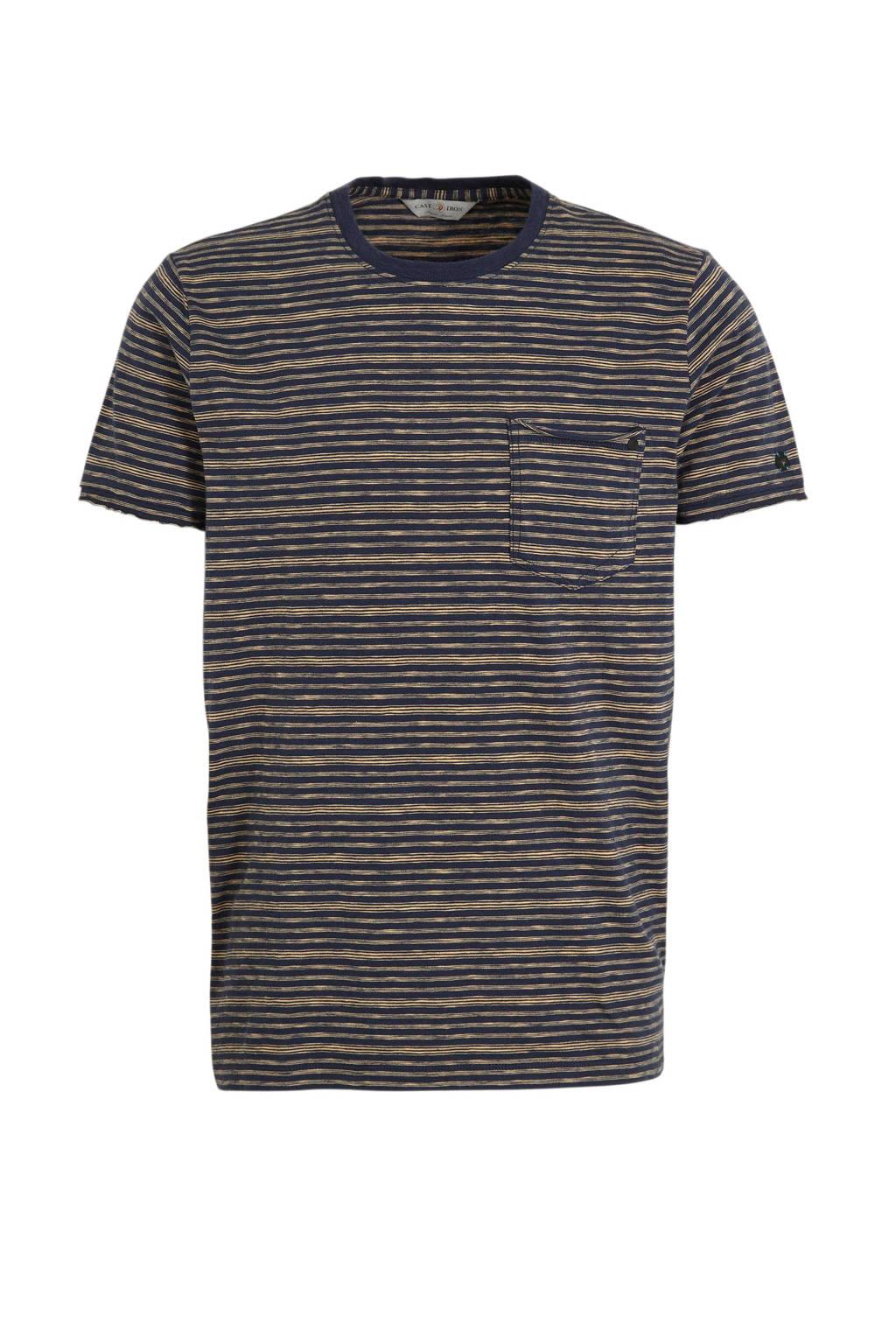 Cast Iron gestreept T-shirt meerkleurig, Meerkleurig