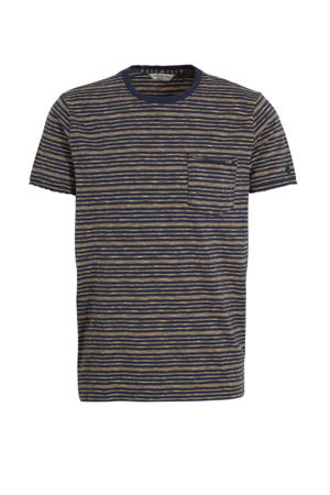 gestreept T-shirt meerkleurig
