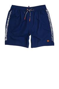 Superdry Sport zwemshort donkerblauw, Donkerblauw