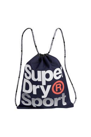 gymtas logo donkerblauw