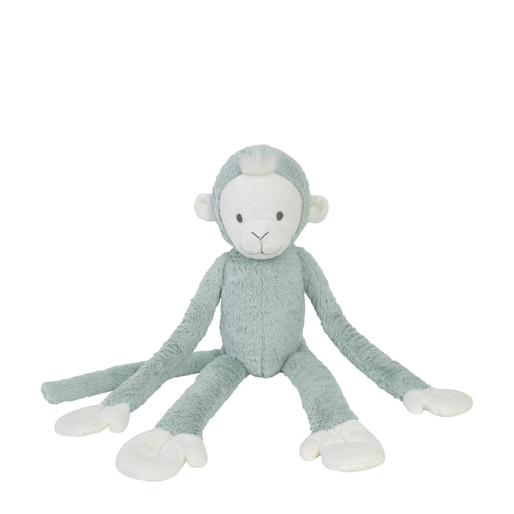 Happy Horse Teal Hanging Monkey no. 2 knuffel 42 cm