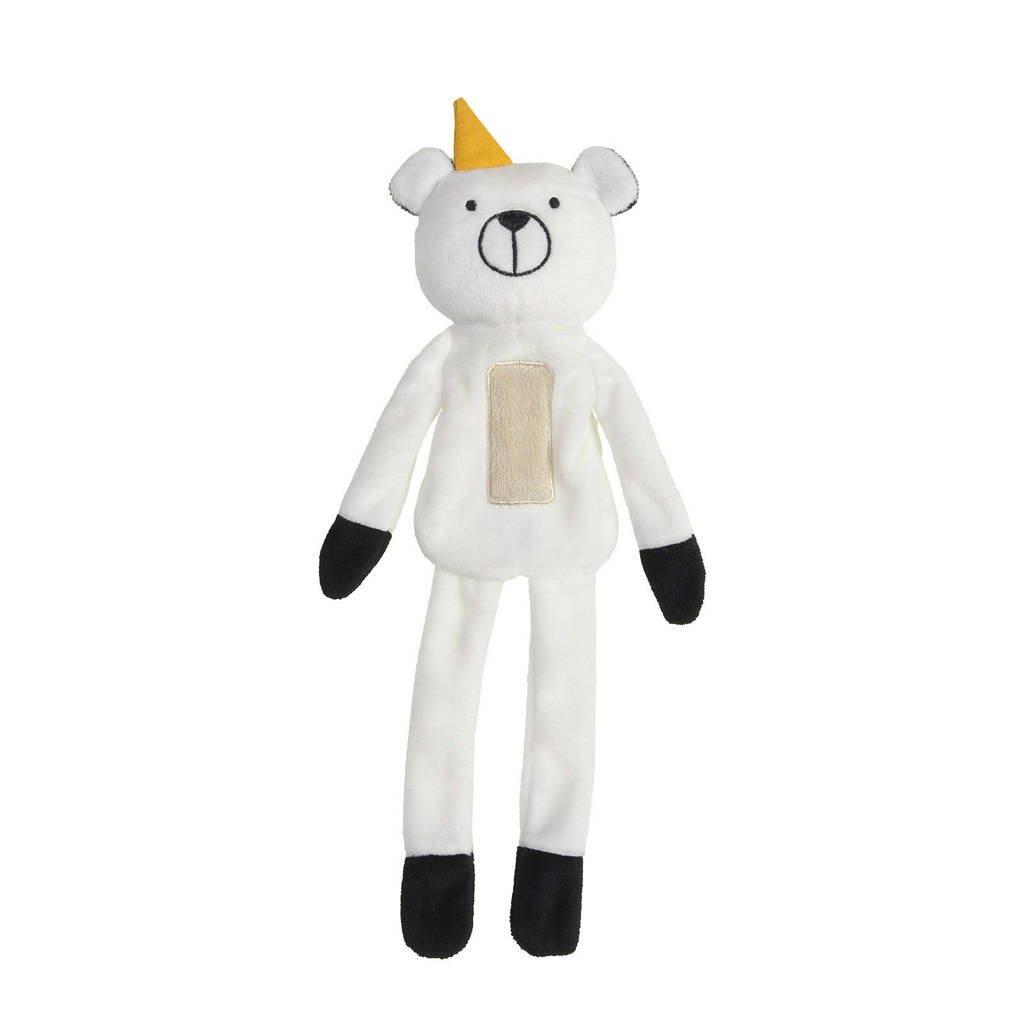 Happy Horse Bear Bowi Tuttle knuffeldoekje, Wit
