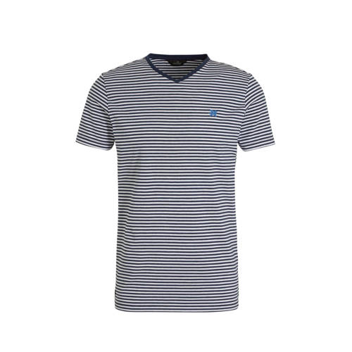 Vanguard gestreept T-shirt marine