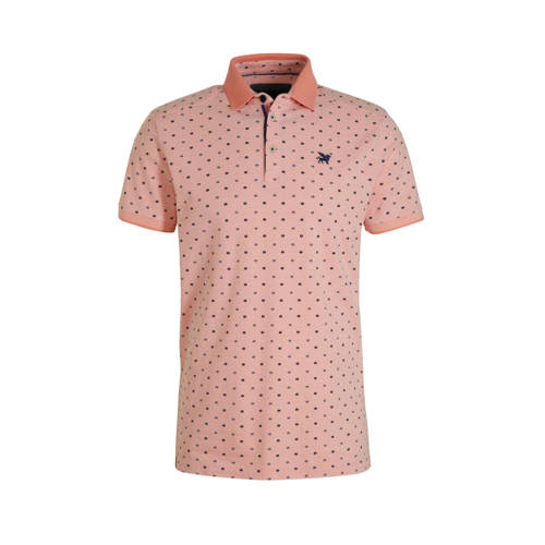 Vanguard slim fit polo zalm