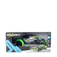 Silverlit Exost RC Motodrift Stuntmotor, Zwart