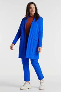Plus Basics blazer blauw, Blauw