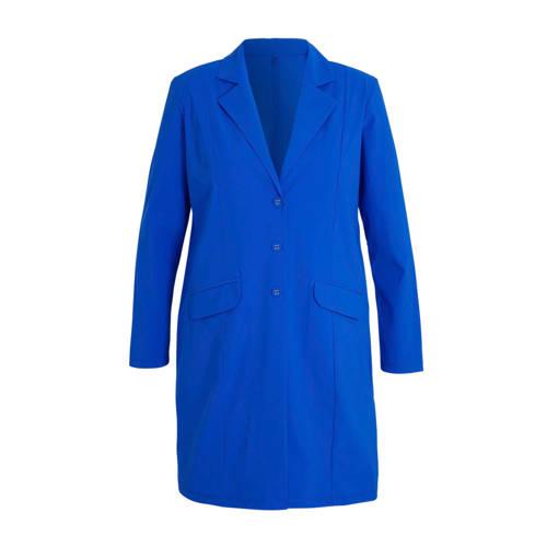 Plus Basics blazer blauw