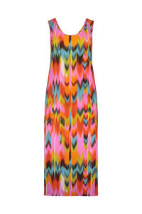 Plus Basics Plus Basics zomer jurk in jersey travel kwaliteit, Multi