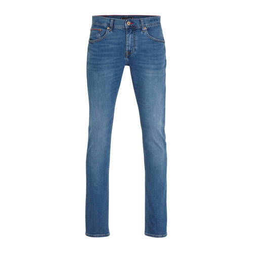 Tommy Hilfiger straight fit jeans Denton blauw