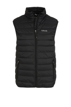 outdoor bodywarmer zwart