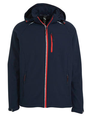 outdoor softshell jack donkerblauw