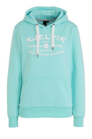 outdoor hoodie aqua