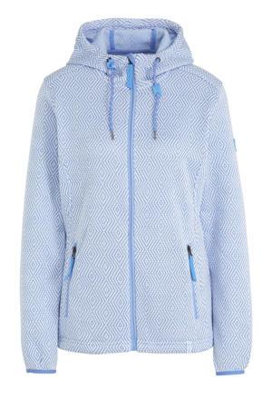 outdoor vest lichtblauw