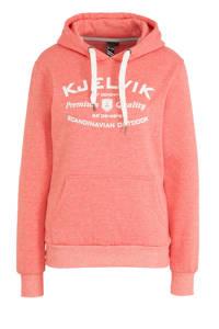 Kjelvik outdoor hoodie roze, Roze