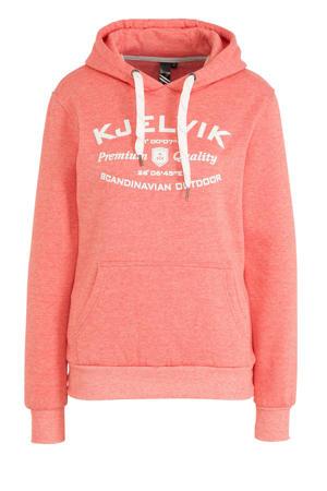 outdoor hoodie roze