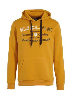 outdoor hoodie Einar geel