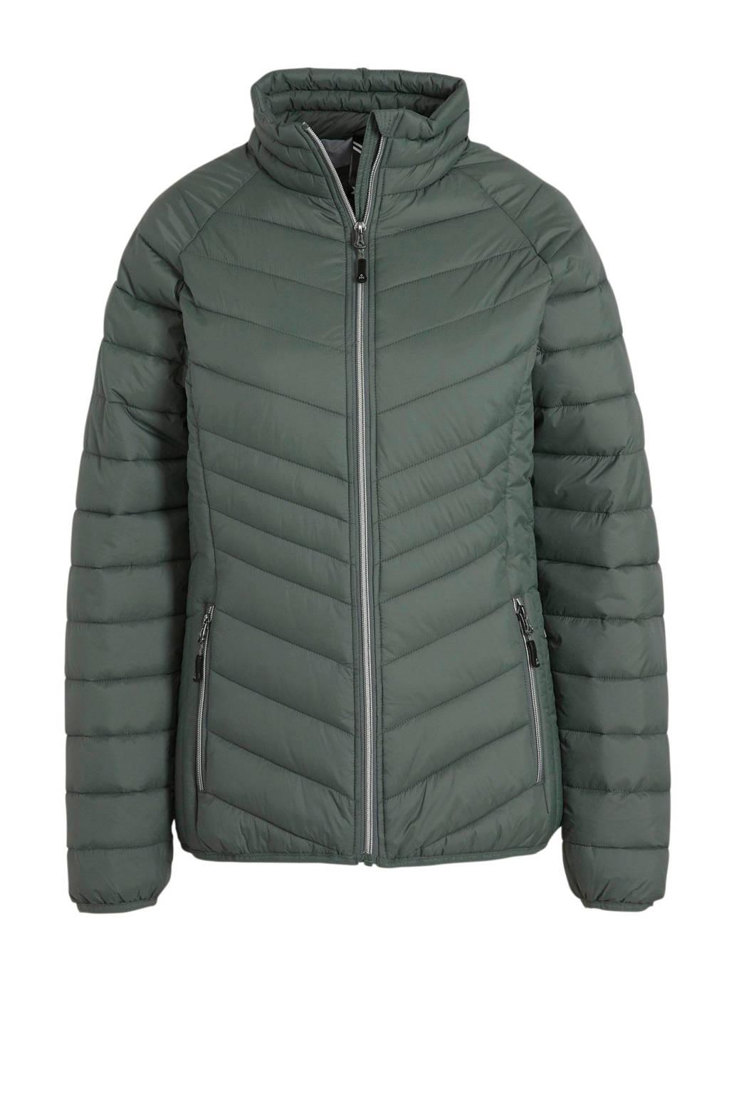 Kjelvik outdoor jas groen, Groen