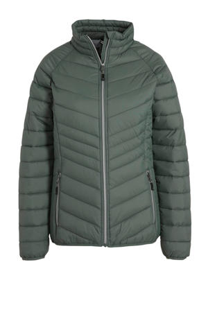 outdoor jas groen