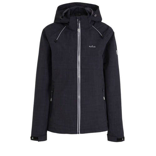 Kjelvik outdoor jas donkerblauw