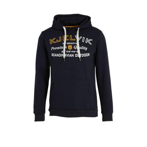 Kjelvik outdoor hoodie zwart
