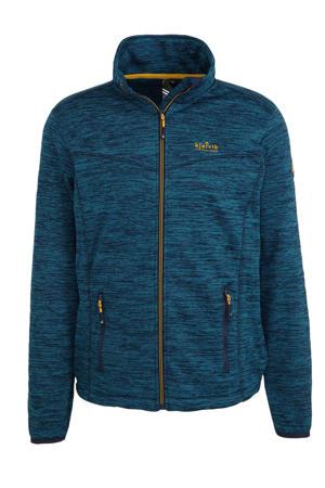 outdoor vest donkerblauw