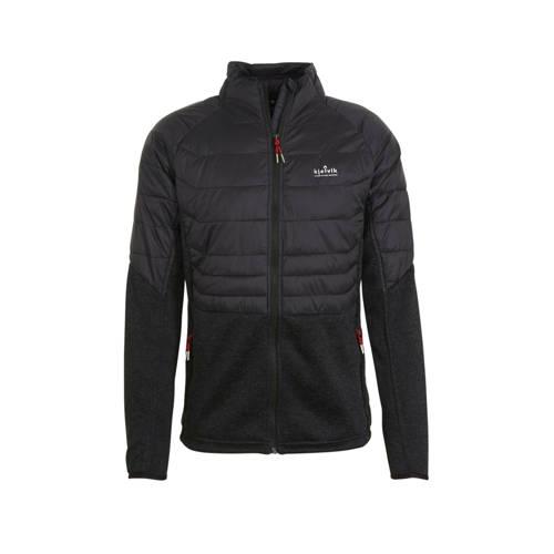 Kjelvik outdoor jas zwart